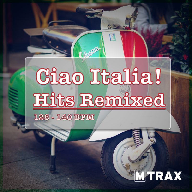 Ciao Italia Hits Remixed - MTrax Fitness Music