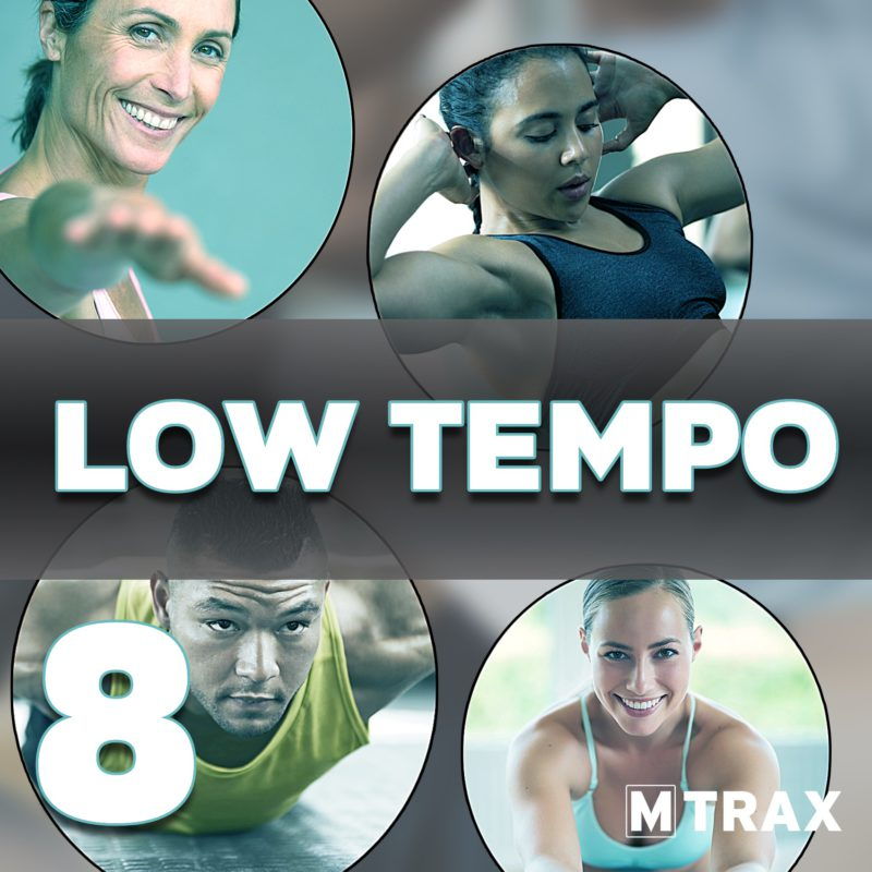 Low Tempo 8 - MTrax Fitness Music