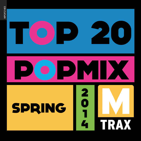 Top 20 PopMix Spring 2014 - MTrax Fitness Music