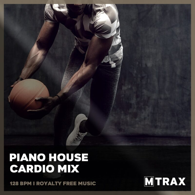 Piano House Cardio Mix - MTrax Fitness Music
